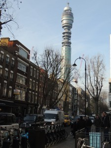 Fitzrovia's BT Tower